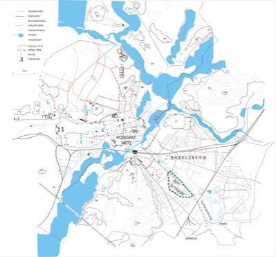 Potsdam Karte Stadtteile.Vorgeschichte Des Wohngebietes Schlaatz De