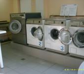 Unser kleiner Waschsalon von innen