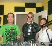 Radiochef Michael Kiesewetter erklärt das Studio